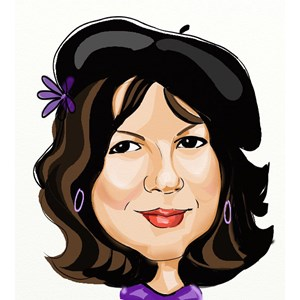 Phil Campbell Caricaturist | Caricatures by Susan