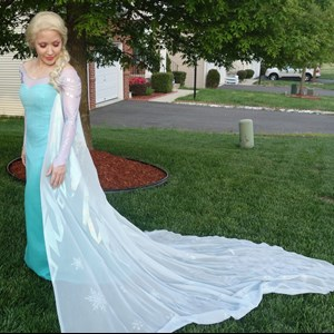 Alexandria Costumed Character | Frozen Snow Queen