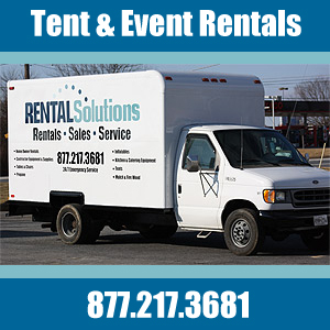 Rental Solutions - Party Tent Rentals - Sykesville, MD