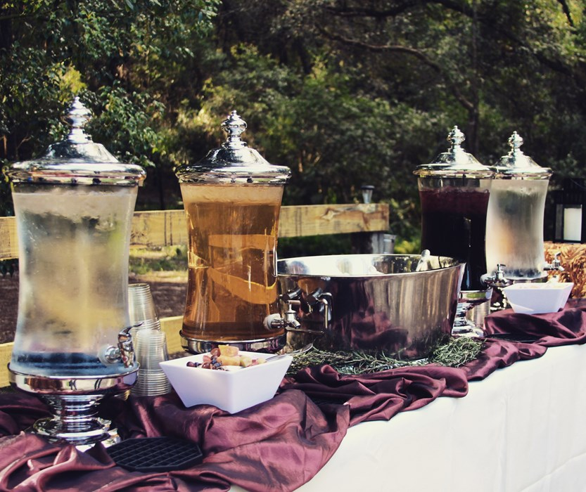 Cocktails Catering Sangria Station