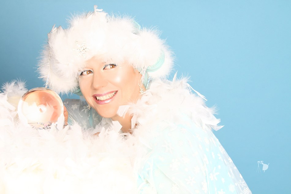 Snow Queen for holiday events!