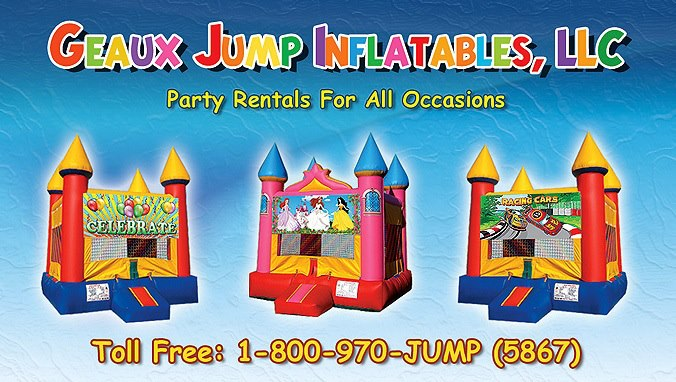 Geaux Jump Inflatables, LLC - Party Inflatables - Baton Rouge, LA