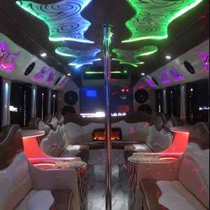 Austin Party Limo | Red Star Party Bus & Shuttle