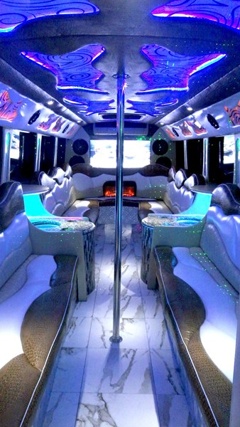 Red Star Party Bus & Shuttle - Party Bus - Austin, TX