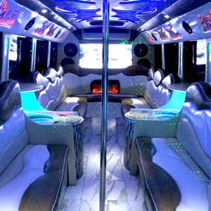 Yancey Funeral Limo | Red Star Party Bus & Shuttle