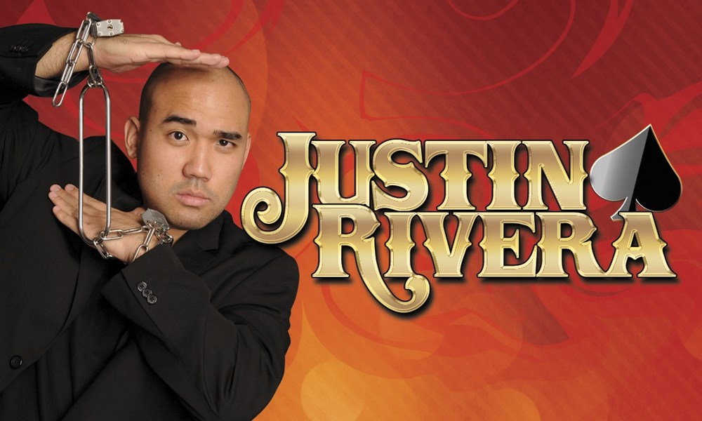 FROM NBC'S AGT COMEDIAN MAGICIAN JUSTIN RIVERA - Comedy Magician - Chino Hills, CA