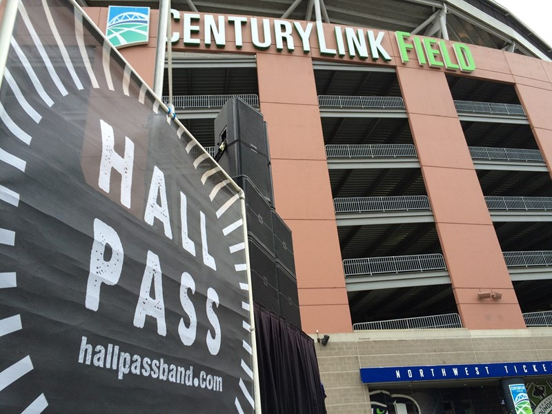 Hall Pass Band @ The Seahawks 2017