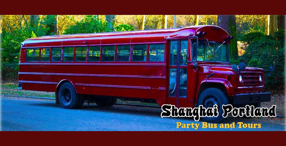 Shanghai Portland Party Bus - Party Bus - Portland, OR