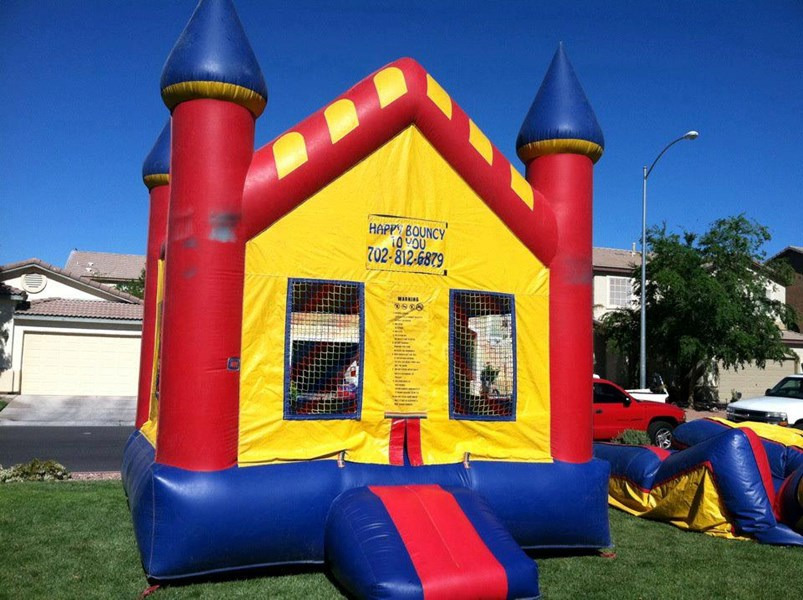 Happy Bouncy to You - Party Inflatables - Reno, NV