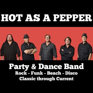 Augusta Top 40 Band | Hot As A Pepper