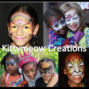 Lawrence Township Face Painter | Kittymeow Creations
