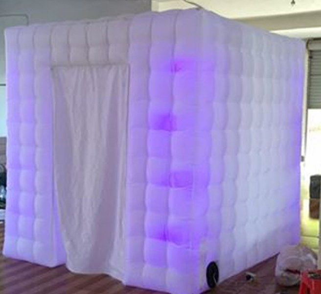 optional photo booth igloo