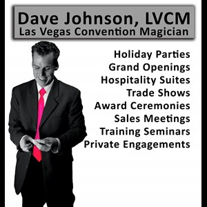 Pocatello Escape Artist | Vegas Convention Magician, Dave Johnson
