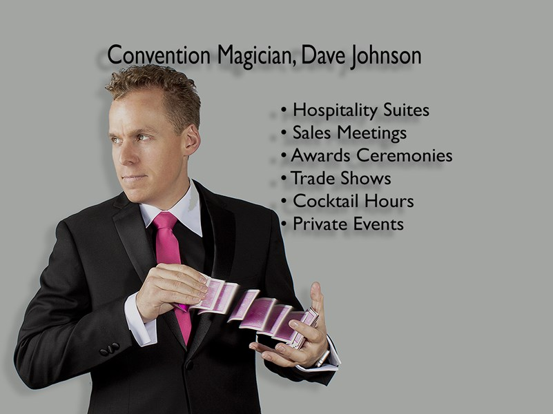 Convention Magician, Dave Johnson - Magician - Las Vegas, NV