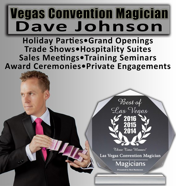 Vegas Convention Magician, Dave Johnson - Magician - Las Vegas, NV