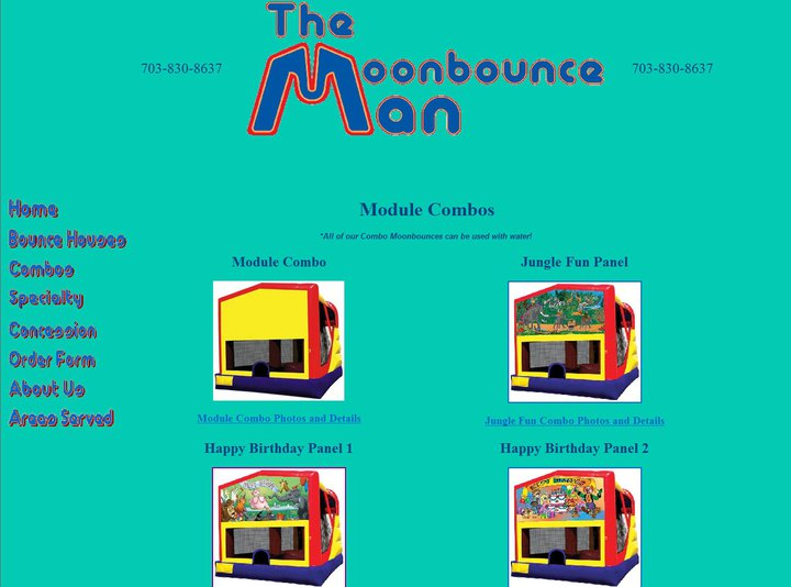 Moonbounce Man - Party Inflatables - Fairfax, VA