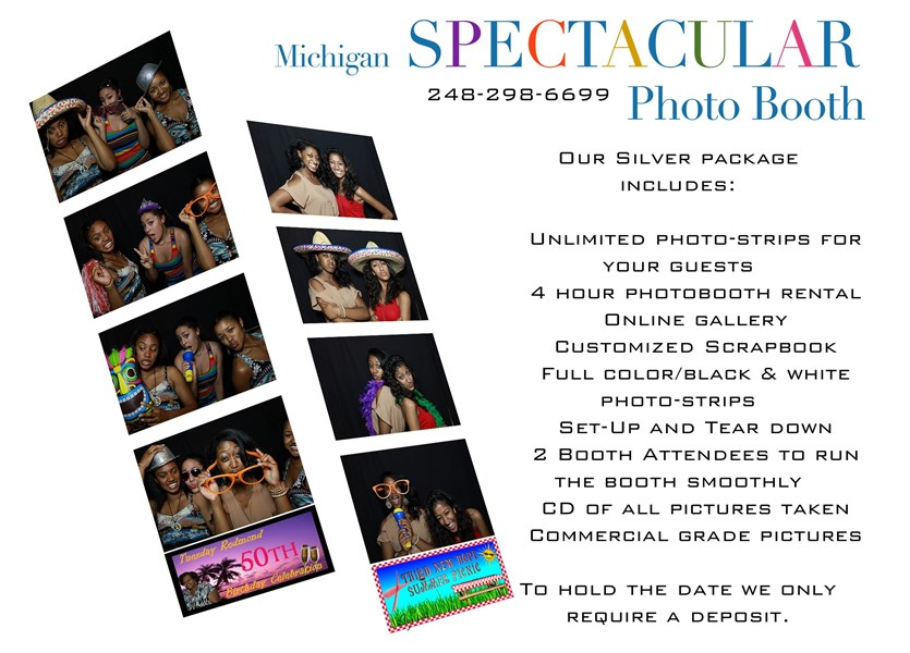 Spectacular Photo Booths - Photo Booth - Troy, MI