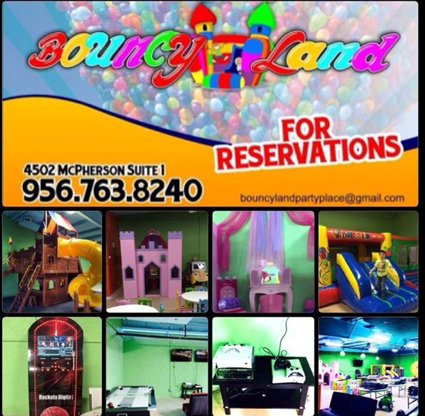 Bouncy Land Party Place - Party Inflatables - Laredo, TX