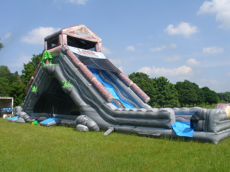 Log Jammer Slide w/ Moon Bounce