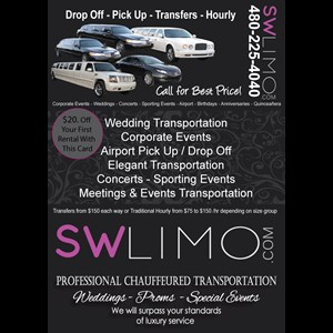 Gilbert Party Bus | SW Limo