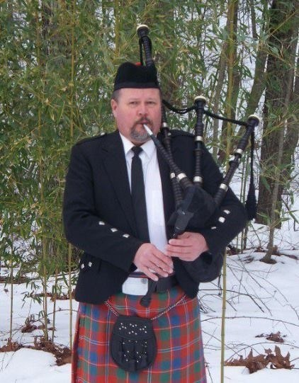 Lone Mountain Bagpiper
