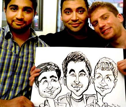 Caricatures by M C Sturman - Caricaturist - Pittsburgh, PA