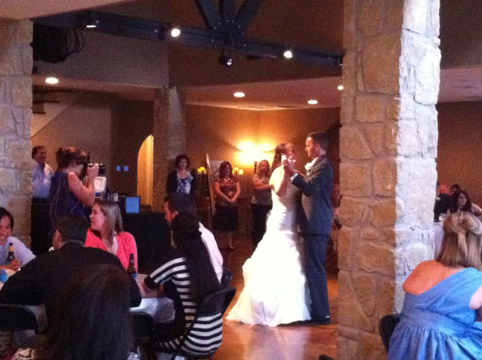 Wedding in Smithville, TX.