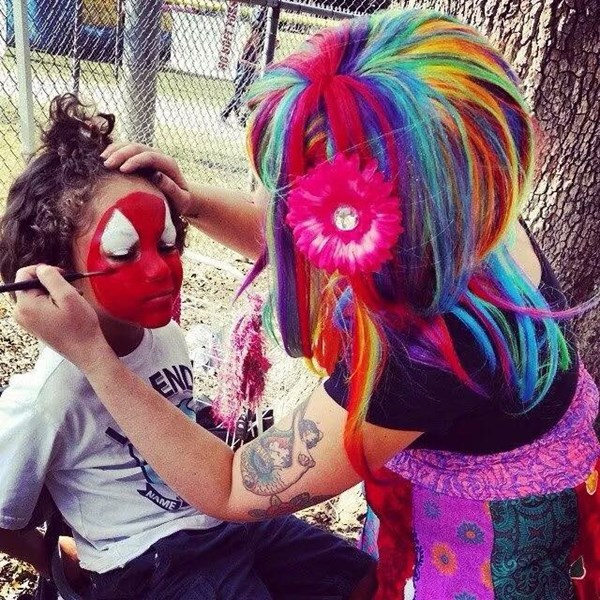 Colorful Day Face Painting - Face Painter - Orlando, FL