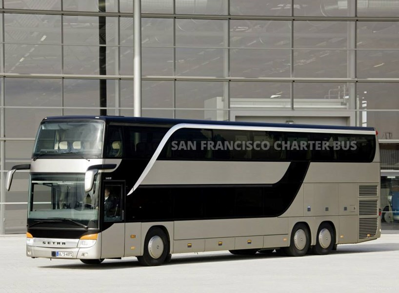 San Francisco Charter Bus Company - Party Bus - San Francisco, CA