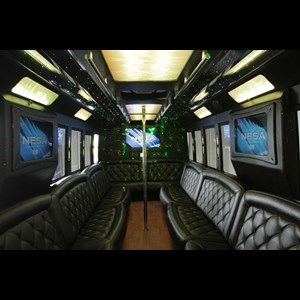 Garland Party Limo | Crystal Limousines