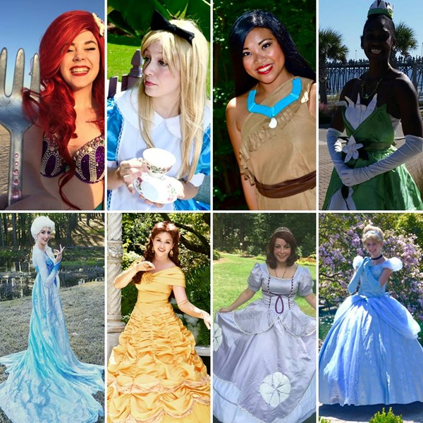 Fairytales and Dreams by the Sea - Princess Party - Wilmington, NC