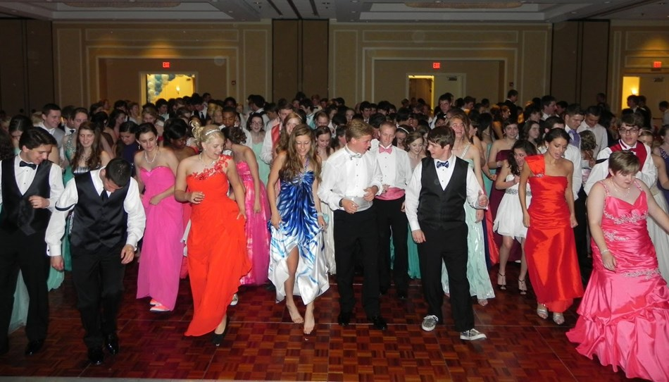 the juniors and seniors prom