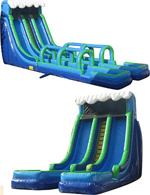24' Tropical Storm waterslide