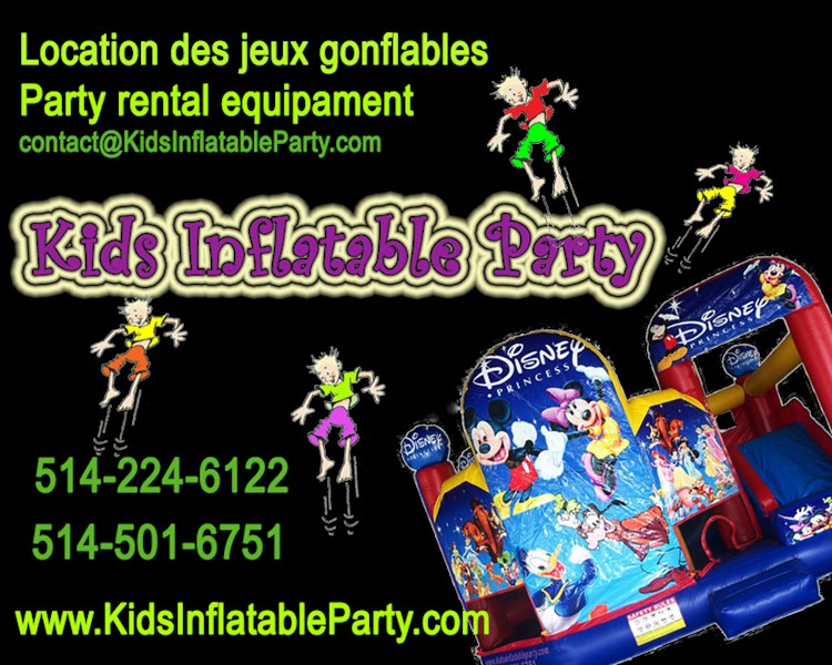 Kids Inflatable Party - Party Inflatables - Laval, QC