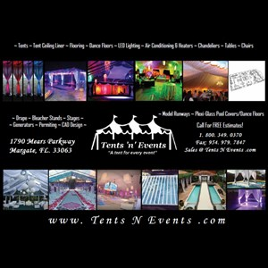 Fort Lauderdale Party Tent Rentals | Tents N EVents