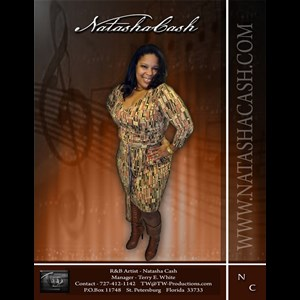 Washington R&B Singer | The Natasha Cash