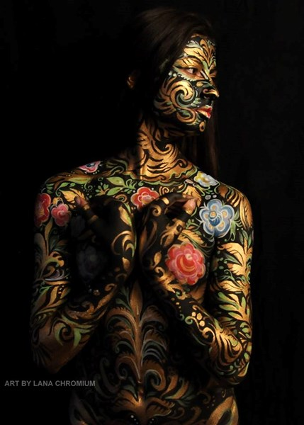 Body & Face painting / Bodyart  by Lana Chromium - Body Painter - San Diego, CA