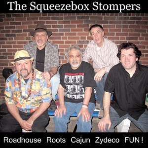 Rhode Island Zydeco Band | Squeezebox Stompers