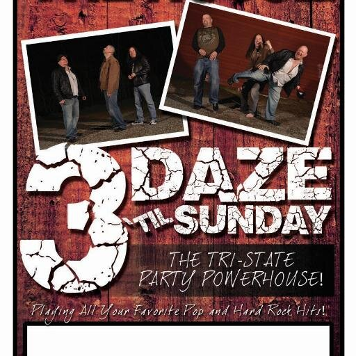 3 DazeTi'l Sunday - Cover Band - Mastic Beach, NY
