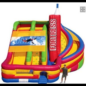 Flushing Party Inflatables | All About Entertainment
