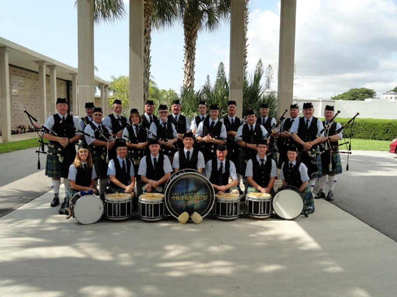 Fort Lauderdale Highlanders Bag Pipe Band - Celtic Band - Fort Lauderdale, FL