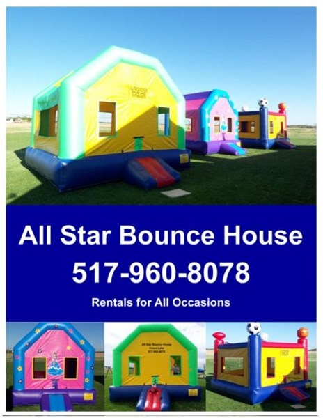 All Star Bounce House, LLC - Bounce House - Grass Lake, MI