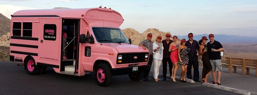 Lilpink Party Bus
