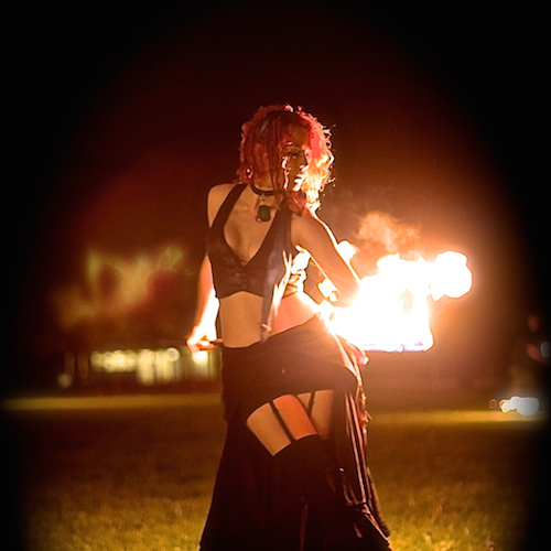 Aeyo Odinflame - Fire Dancer - Boston, MA