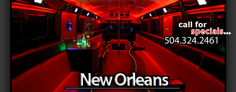 Rent The Party Bus - Party Bus - New Orleans, LA