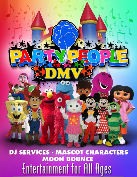 PartyPeopleDMV - Party Inflatables - Washington, DC