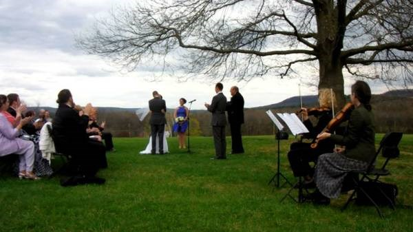 Spring Wedding at Hampshire College