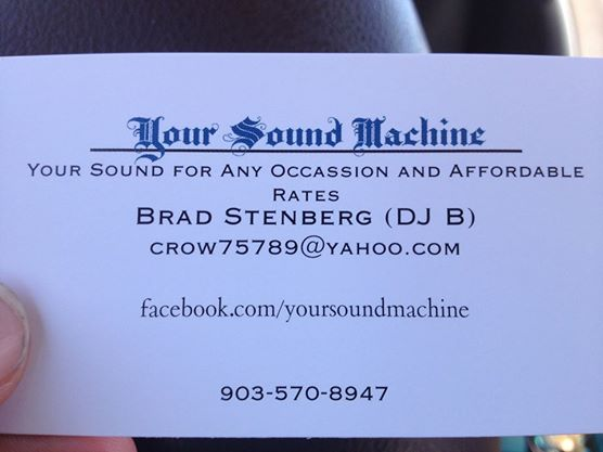 Your Sound Machine - Karaoke DJ - Tyler, TX