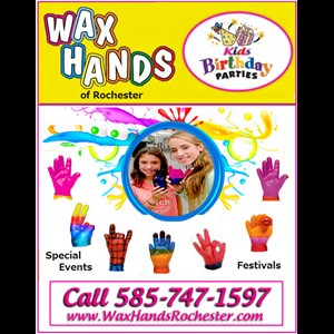 Rochester Party Inflatables | Wax Hands Rochester