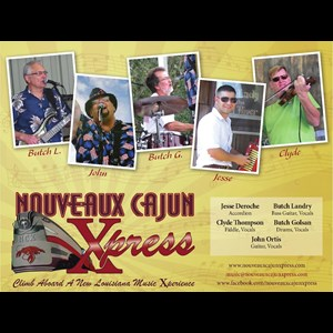 Jefferson Zydeco Band | Nouveaux Cajun Xpress Band